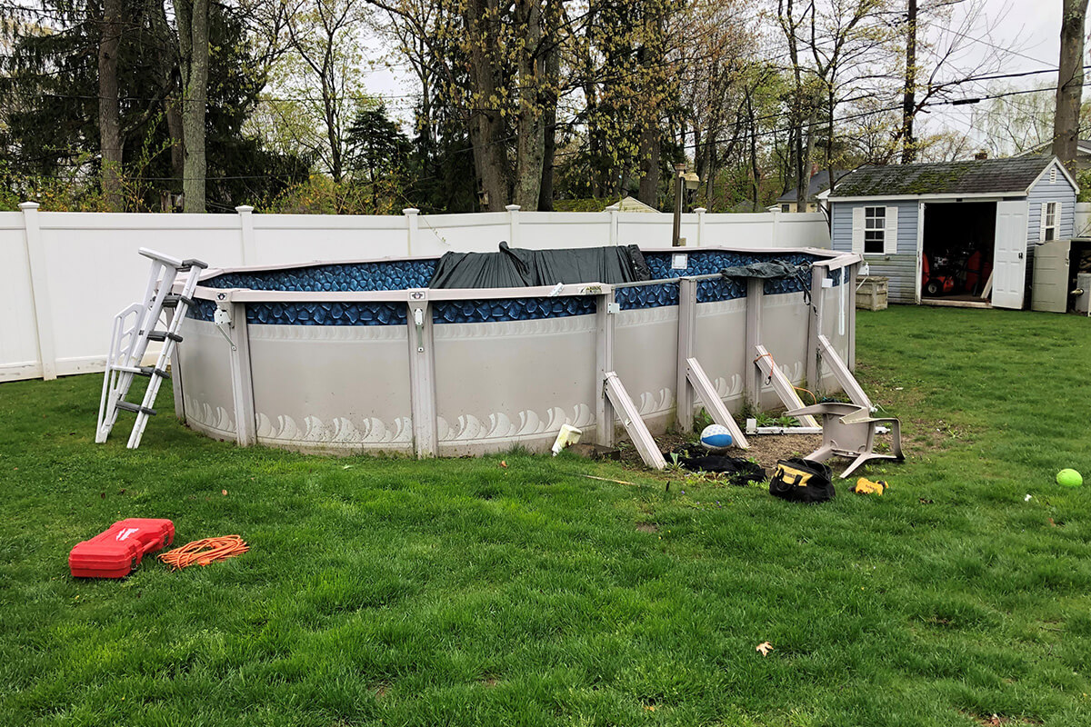 pool removal services long island