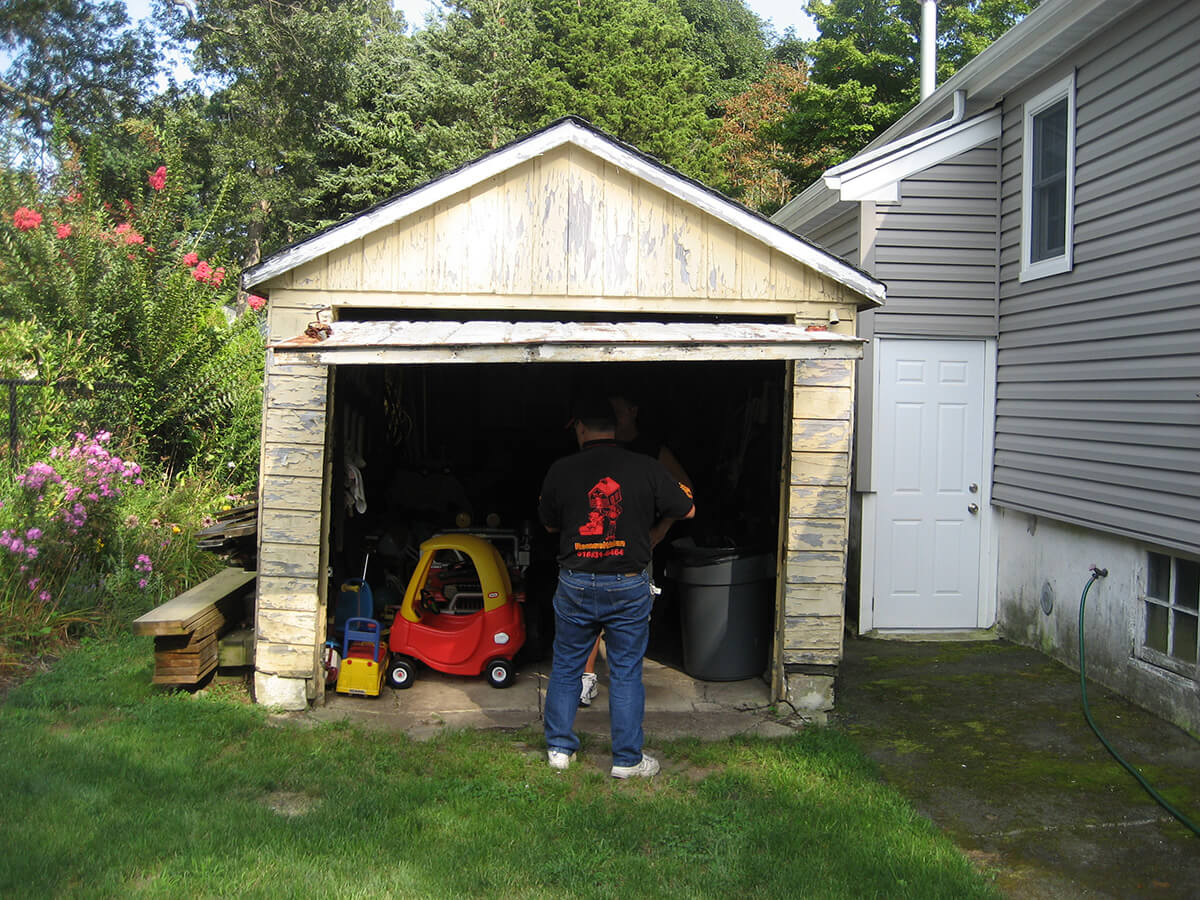 residential debris removal services